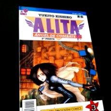Cómics: EXCELENTE ESTADO ALITA 3 ANGEL DE COMBATE 2° PARTE SERIE AZUL COMICS PLANETA VIZ COMICS. Lote 235926580