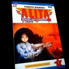 Cómics: CASI EXCELENTE ESTADO ALITA 1 ANGEL DE COMBATE 2° PARTE SERIE AZUL COMICS PLANETA VIZ COMICS. Lote 236101040