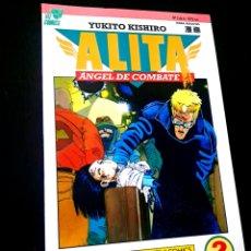 Cómics: EXCELENTE ESTADO ALITA 2 ANGEL DE COMBATE SERIE ROSA COMICS PLANETA VIZ COMICS. Lote 236102780