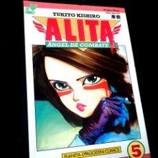 Cómics: MUY BUEN ESTADO ALITA 5 ANGEL DE COMBATE SERIE ROSA COMICS PLANETA VIZ COMICS. Lote 236103565