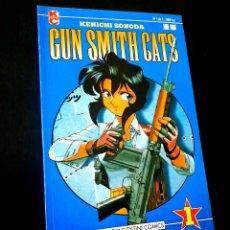 Cómics: CASI EXCELENTE ESTADO GUN SMITH CATS 1 COMICS PLANETA MANGA. Lote 236105675
