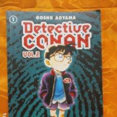 Cómics: DETECTIVE CONAN 1, VOL.2 - GÔSHÔ AOYAMA - PLANETA. Lote 236322315