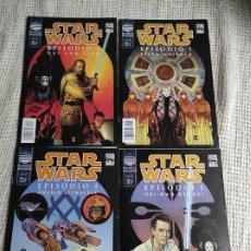 Fumetti: STAR WARS, EPISODIO I - SERIE COMPLETA 4 EJEMPLARES - ED. PLANETA. Lote 46509657