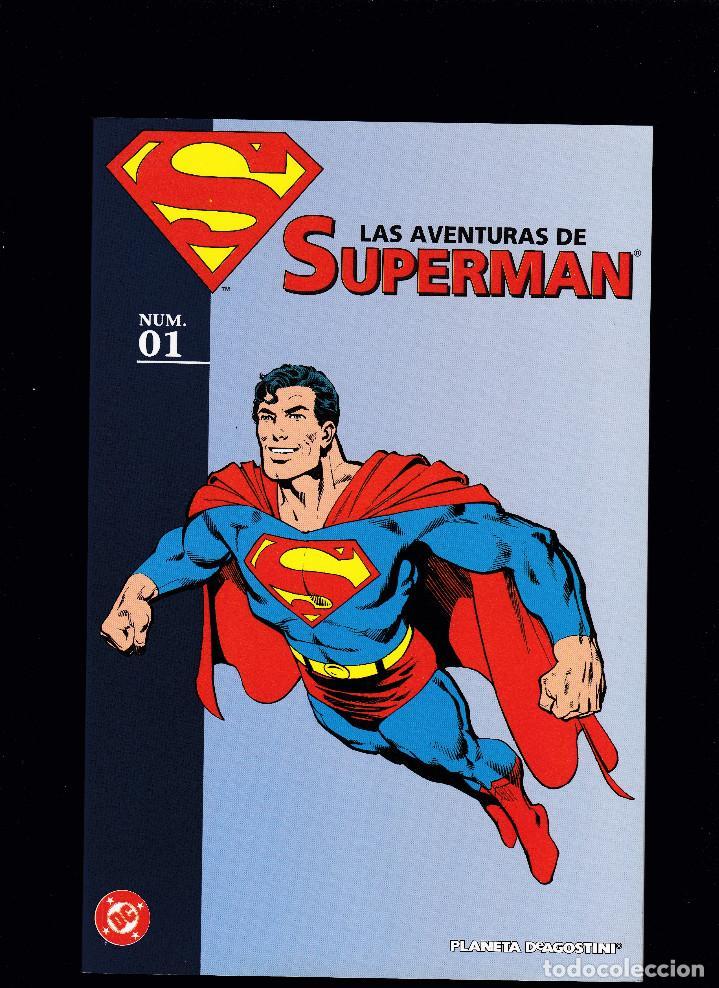 LAS AVENTURAS DE SUPERMAN - Nº 1 DE 40 - PLANETA DEAGOSTINI (Tebeos y Comics - Planeta)