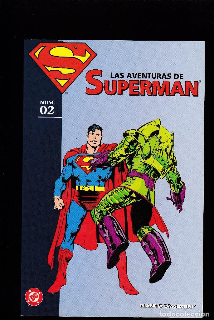 LAS AVENTURAS DE SUPERMAN - Nº 2 DE 40 - PLANETA DEAGOSTINI - (Tebeos y Comics - Planeta)