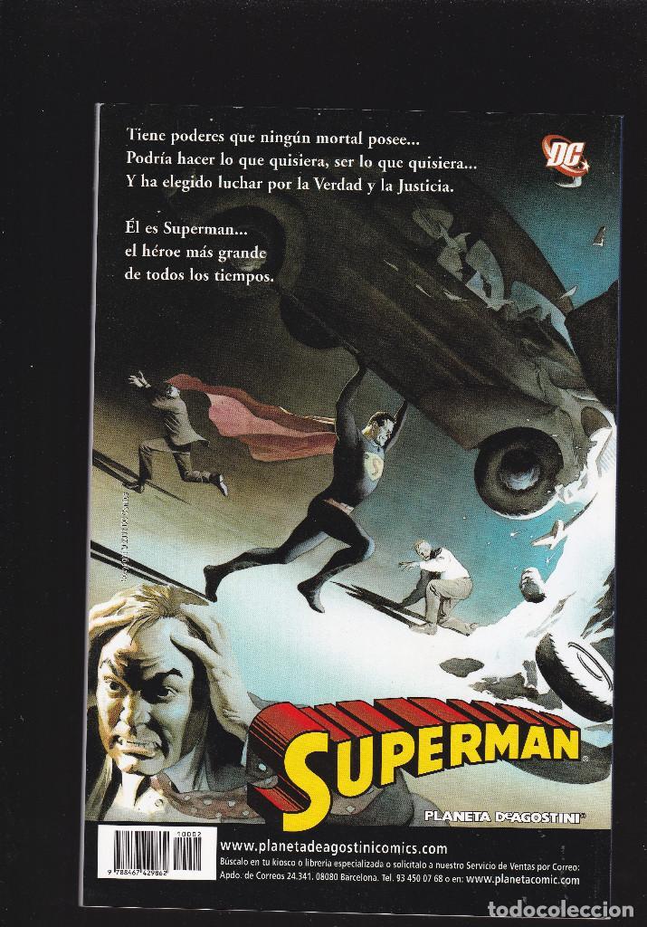 Cómics: LAS AVENTURAS DE SUPERMAN - Nº 2 DE 40 - PLANETA DeAGOSTINI - - Foto 2 - 236407655