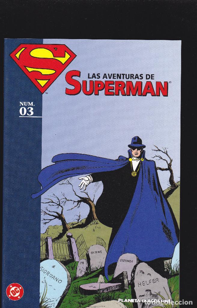 LAS AVENTURAS DE SUPERMAN - Nº 3 DE 40 - PLANETA DEAGOSTINI - (Tebeos y Comics - Planeta)