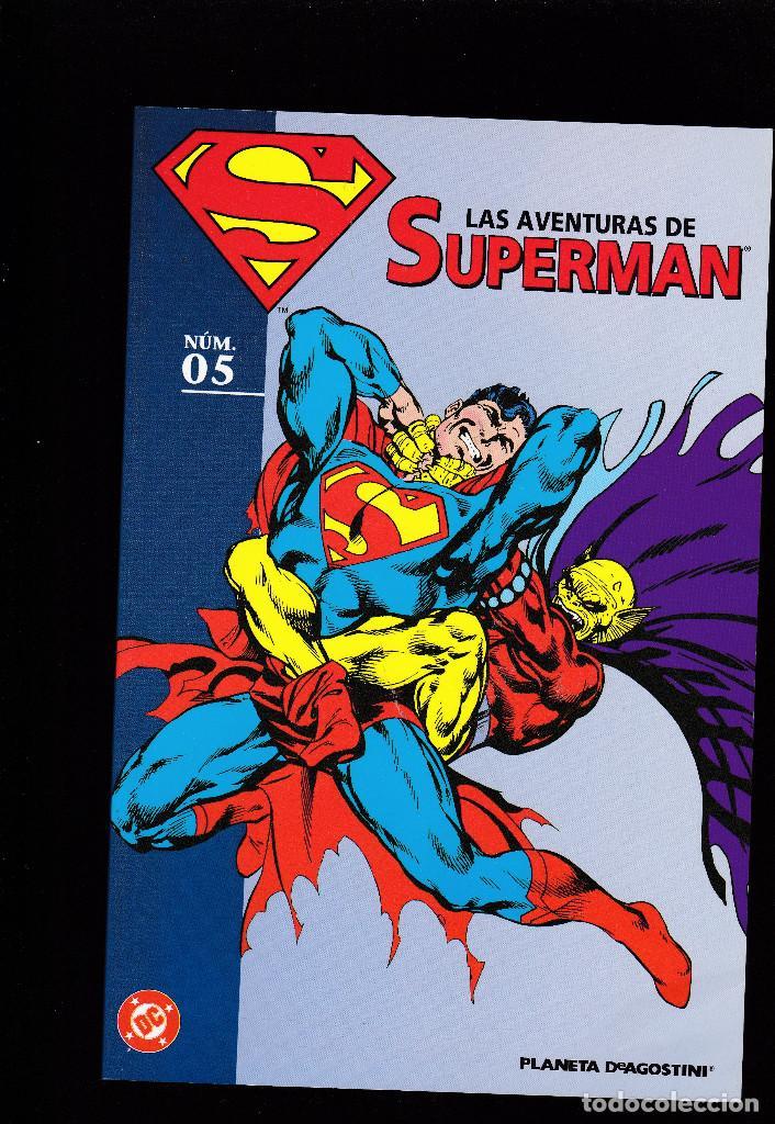 LAS AVENTURAS DE SUPERMAN - Nº 5 DE 40 - PLANETA DEAGOSTINI - (Tebeos y Comics - Planeta)