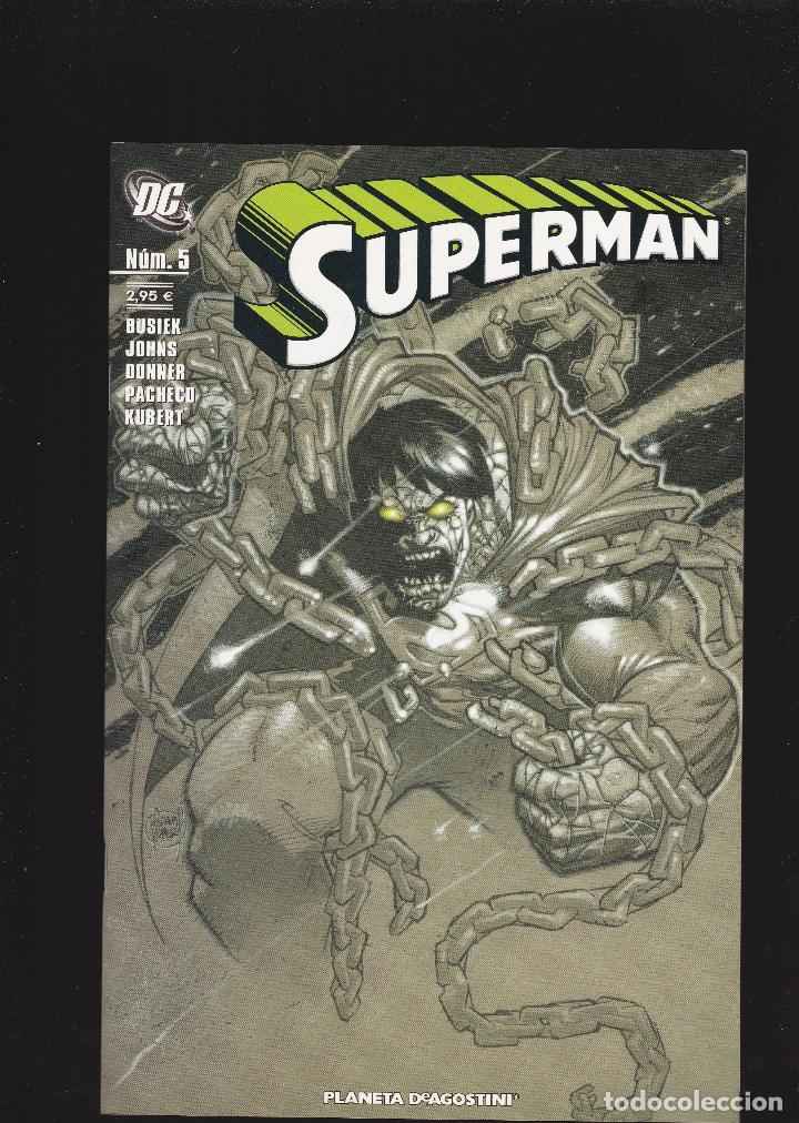 SUPERMAN VOL 2 - Nº 5 DE 59 - PLANETA DEAGOSTINI - (Tebeos y Comics - Planeta)