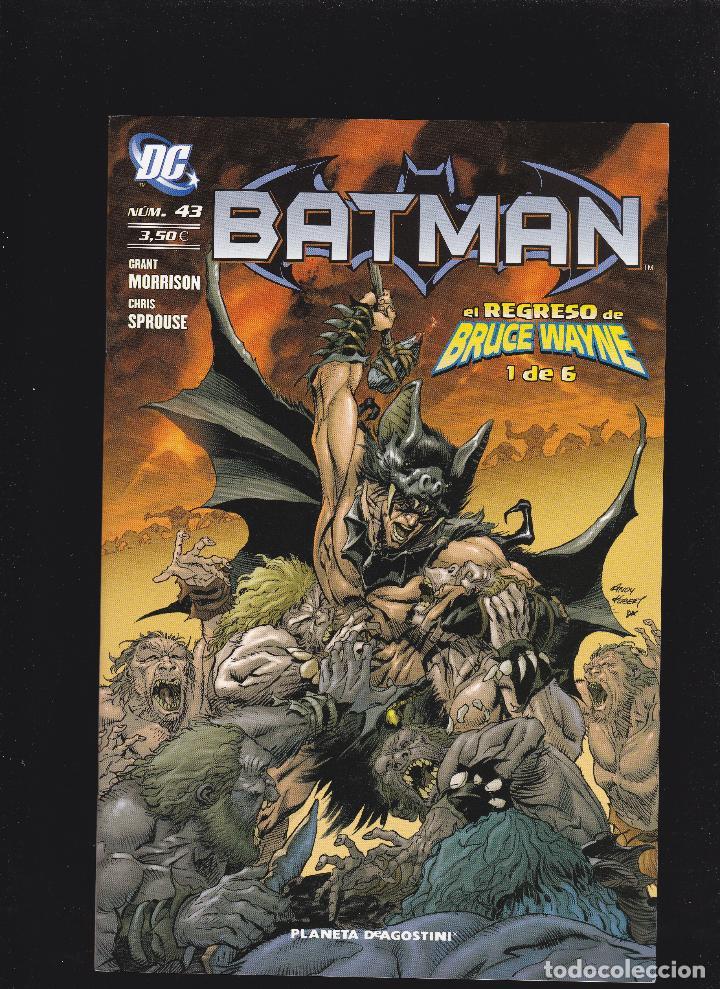 BATMAN - VOL 2 - Nº 43 DE 60 - VI-2007 A IV-2012 - PLANETA DEAGOSTINI / ECC EDICIONES - (Tebeos y Comics - Planeta)