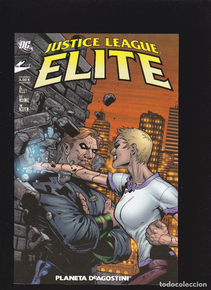 JUSTICE LEAGUE ELITE - Nº 2 DE 6 - XII-2006 - PLANETA DEAGOSTINI - (Tebeos y Comics - Planeta)