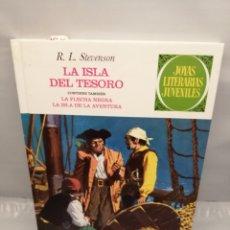 Cómics: LA ISLA DEL TESORO / LA FLECHA NEGRA / LA ISLA DE LA AVENTURA (JOYAS LITERARIAS JUVENILES). Lote 236549815