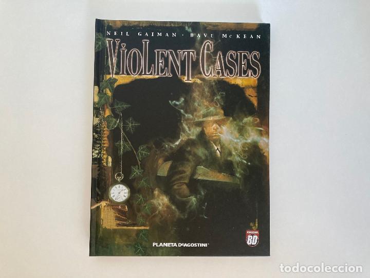 VIOLENT CASES DE GAIMAN Y MCKEAN. PLANETA. (Tebeos y Comics - Planeta)
