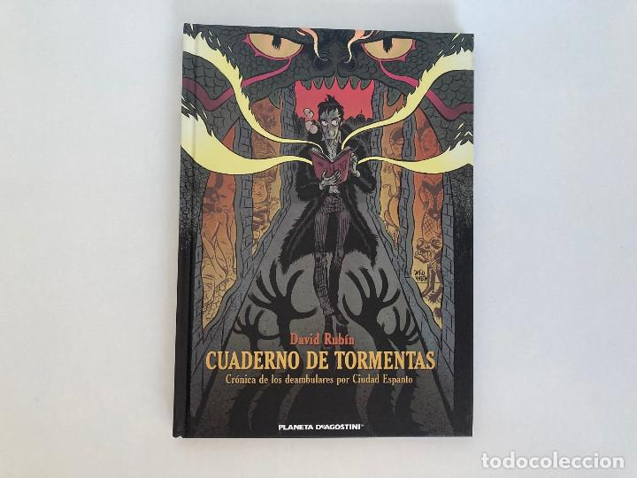 CUADERNO DE TORMENTAS DE DAVID RUBÍN. PLANETA. (Tebeos y Comics - Planeta)