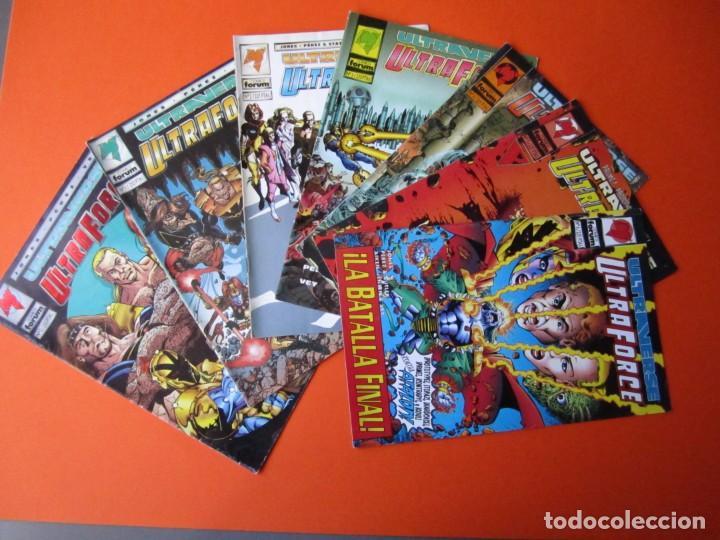 ULTRAFORCE (1995, PLANETA-DEAGOSTINI) LOTE 7 NÚMEROS ( 0 AL 6 ) (Tebeos y Comics - Planeta)