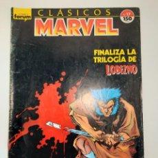 Cómics: MARVEL (1988, PLANETA-DEAGOSTINI) -CLASICOS- 17 · XII-1989 · LOBEZNO. Lote 237274080