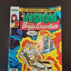 Cómics: VISION Y LA BRUJA ESCARLATA, LA (1988, PLANETA-DEAGOSTINI) 8 · X-1988 · LO DICE EL TERRIBLE REY SAPO. Lote 237278650