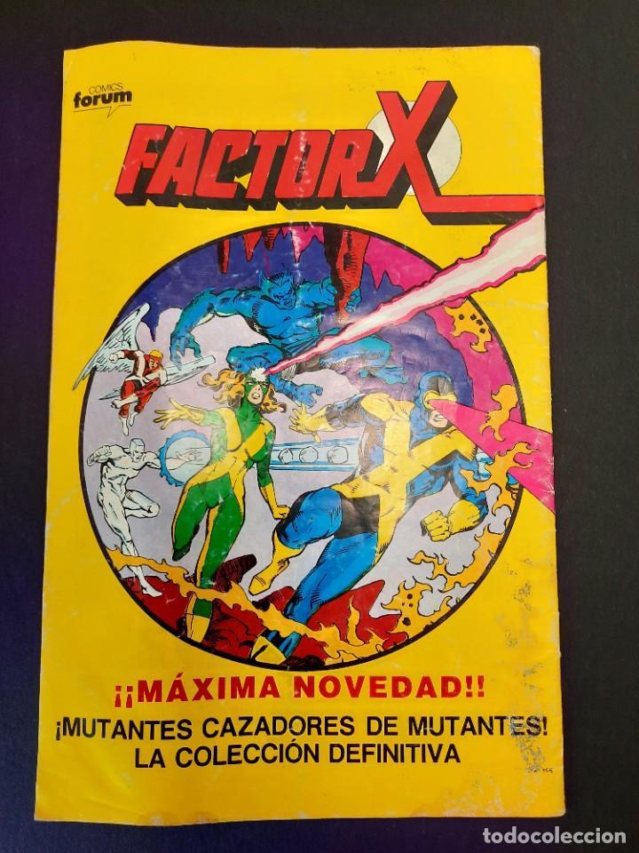 Cómics: VISION Y LA BRUJA ESCARLATA, LA (1988, PLANETA-DEAGOSTINI) 8 · X-1988 · LO DICE EL TERRIBLE REY SAPO - Foto 3 - 237278650