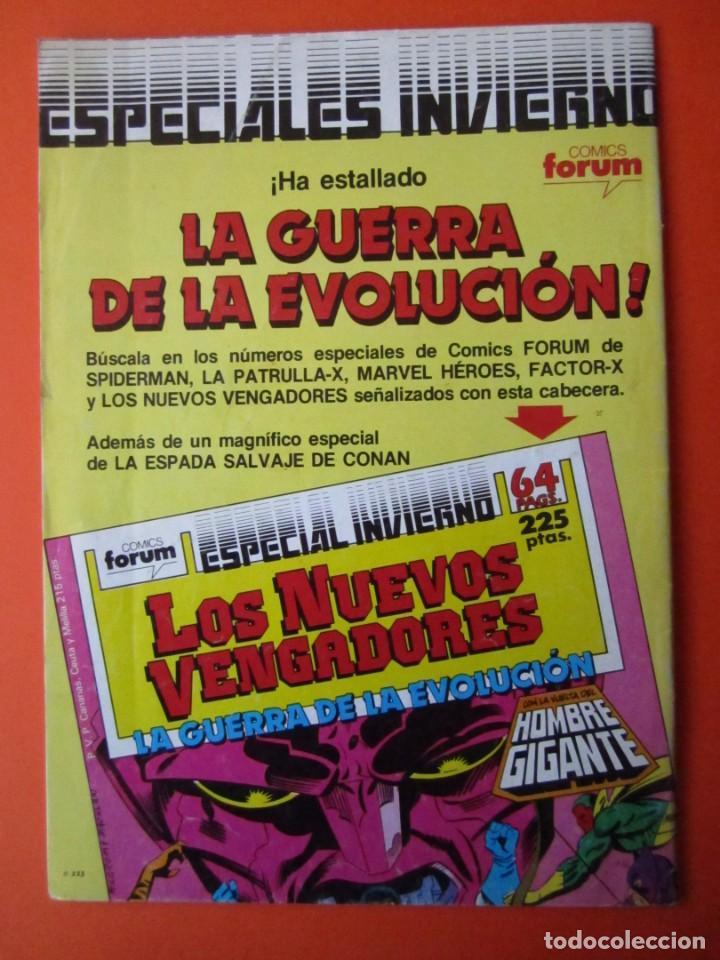 Cómics: MARVEL HEROES (1987, PLANETA-DEAGOSTINI) 23 · XI-1988 · SPIDERMAN - Foto 2 - 237300500