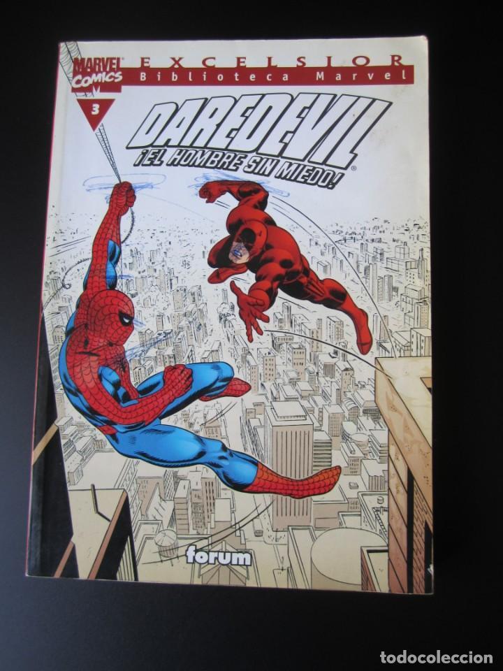 DAREDEVIL (2001, PLANETA-DEAGOSTINI) -BIBLIOTECA MARVEL- 3 · VII-2001 · DAREDEVIL (Tebeos y Comics - Planeta)
