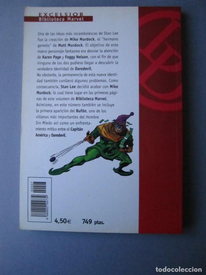 Cómics: DAREDEVIL (2001, PLANETA-DEAGOSTINI) -BIBLIOTECA MARVEL- 7 · XI-2001 · DAREDEVIL - Foto 2 - 237308945