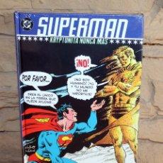 Cómics: SUPERMAN KRYPTONITA NUNCA MAS - PLANETA - NUEVO Y PRECINTADO. Lote 237480950