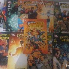 Fumetti: SUPERGIRL Y LA LEGIÓN (OBRA COMPLETA 11 NÚMEROS + TOMO) - PLANETA. Lote 275596998