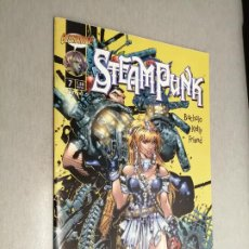 Cómics: STEAMPUNK Nº 7 / BACHALO - KELLY - FRIEND / CLIFFHANGER! - PLANETA. Lote 242473160