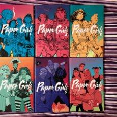 Cómics: PAPER GIRLS COMPLETA. Lote 243148440