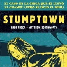 Fumetti: STUMPTOWN(GREG RUCKA & M.SOUTHWORT):EL CASO DE LA CHICA QUE SE LLEVÓ EL CHAMPÚ(PERO SE DEJÓ EL MINI). Lote 243241220