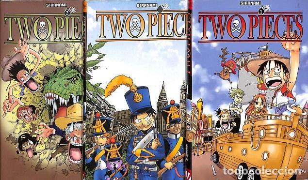 TWO PIECES (COLECCIÓN DEL 1 AL 3 ) (Tebeos y Comics - Planeta)