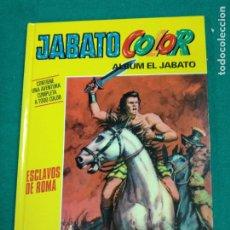 Cómics: JABATO COLOR .ALBUM EL JABATO Nº 1. ESCLAVOS DE ROMA. PLANETA DEAGOSTINI 2010. TAPA DURA... Lote 295534418