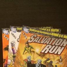 Cómics: SALVATION RUN. 3 TOMOS. Lote 243906425