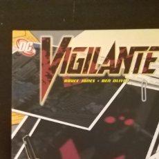Cómics: VIGILANTE. JONES OLIVER. Lote 243907300