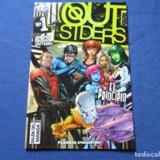 Cómics: DC COMICS - OUTSIDERS N.º 1 VOLUMEN 1 PLANETA. Lote 244494025