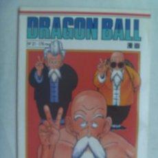 Cómics: DRAGON BALL , DE AKIRA TORIYAMA , Nº 21 . DE PLANETA - DEAGOSTINI COMICS. Lote 244519670