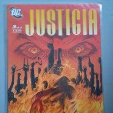 Cómics: JUSTICIA 3-ALEX ROSS-PLANETA. Lote 244580410