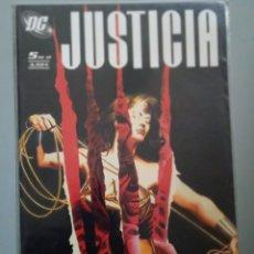 Cómics: JUSTICIA 5-ALEX ROSS-PLANETA. Lote 244580565