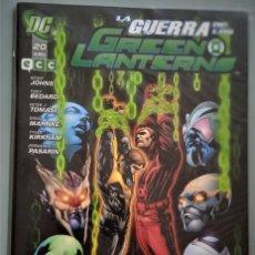 Cómics: LA GUERRA DE LOS GREEN LANTERN 20. Lote 244587365