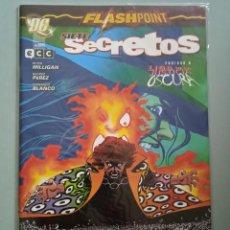 Cómics: FLASH POINT SIETE SECRETOS-PLANETA. Lote 244590325