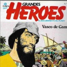 Cómics: GRANDES HEROES -- Nº 5 VASCO DE GAMA. Lote 244608385