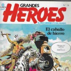 Cómics: GRANDES HEROES -- Nº 19 EL CABALLO DE HIERRO. Lote 244608440