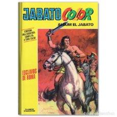 Cómics: JABATO COLOR ESCLAVOS DE ROMA. Lote 244627950