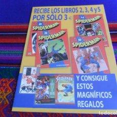 Cómics: SPIDERMAN COLECCIONABLE ROJO 1 2 3 4 5 6 7 10 18 43 PLANETA 2002. CON PROGRAMA DE LA COLECCIÓN. Lote 40606924