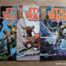 Fumetti: STAR WARS - MISIÓN A MALASTARE 3 COMPLETA - PERFECTO ESTADO. Lote 116110839