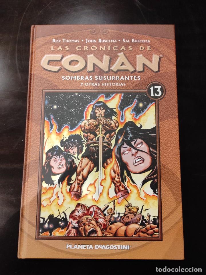LAS CRÓNICAS DE CONAN 13 SOMBRAS SUSURRANTES -PLANETA AGOSTINI- (Tebeos y Comics - Planeta)
