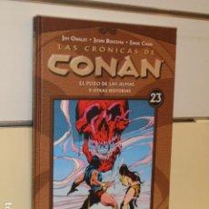 Comics: LAS CRONICAS DE CONAN Nº 23 - PLANETA OFERTA. Lote 251538240