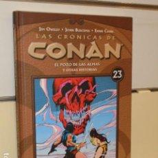 Fumetti: LAS CRONICAS DE CONAN Nº 23 - PLANETA OFERTA. Lote 251538285