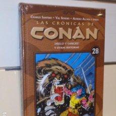 Comics: LAS CRONICAS DE CONAN Nº 28 - PLANETA OFERTA. Lote 251538780