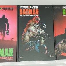 Cómics: BATMAN : EL ULTIMO CABALLERO DE LA TIERRA ¡ COMPLETA 3 NUMEROS ! SNYDER - CAPULLO / DC - ECC. Lote 269206068